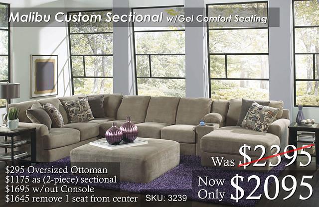 Malibu Custom Custom Sectional WORK