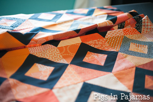 Grace Circle October 2016 Quilt top