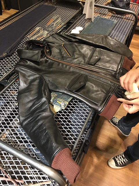 JEANSDA Leather Jacket