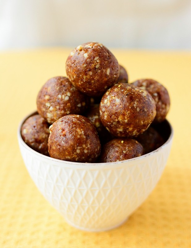 Almonds, Walnuts and Orange Energy Balls