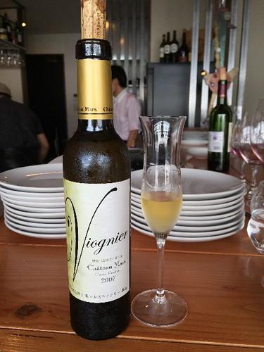 viognier デザートワインですよ!