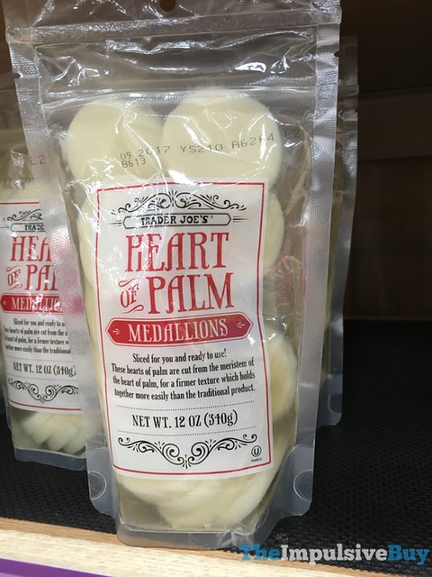 Trader Joe's Heart of Palm Medallions