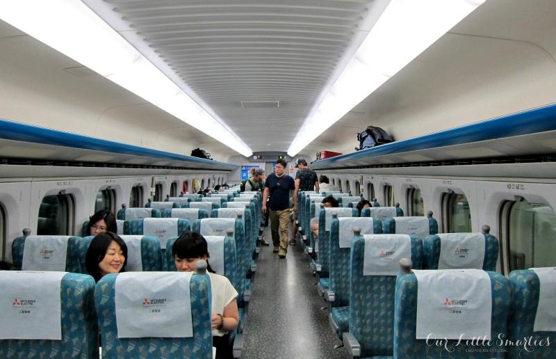 Taiwan HSR Cabin