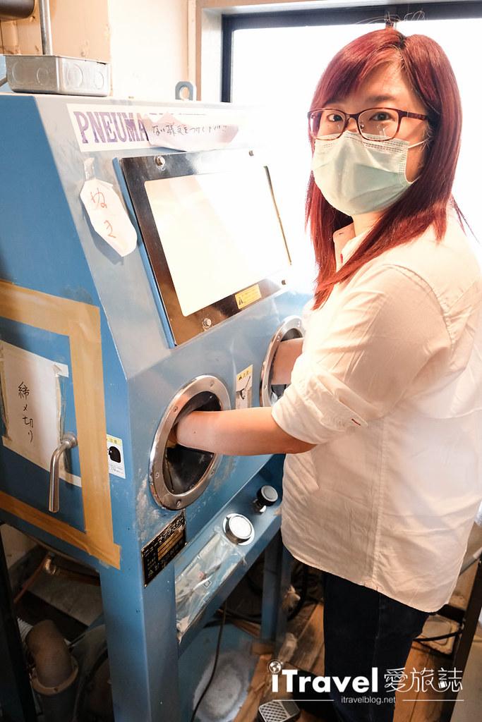 东京手作课程 喷砂玻璃工艺体验 32