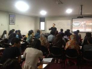 Instruktur Sepak Class @ GICI Business School