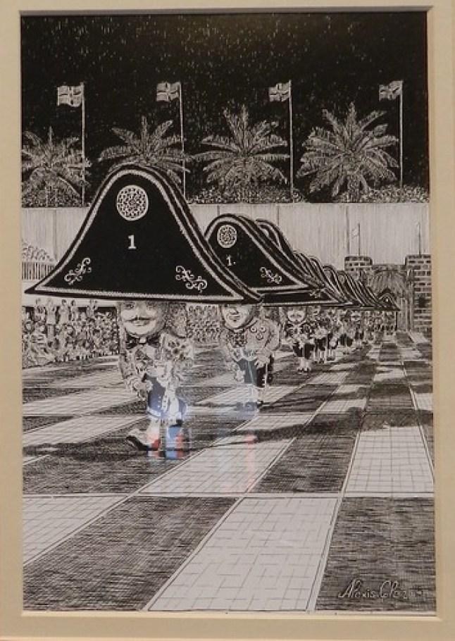 Exposición Arte Lustral Escenografia del Baile de los Enanos en Santa Cruz de la Palma 12