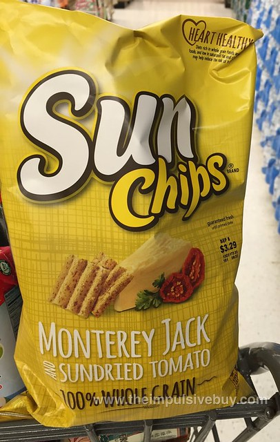 Sun Chips Monterey Jack and Sundried Tomato