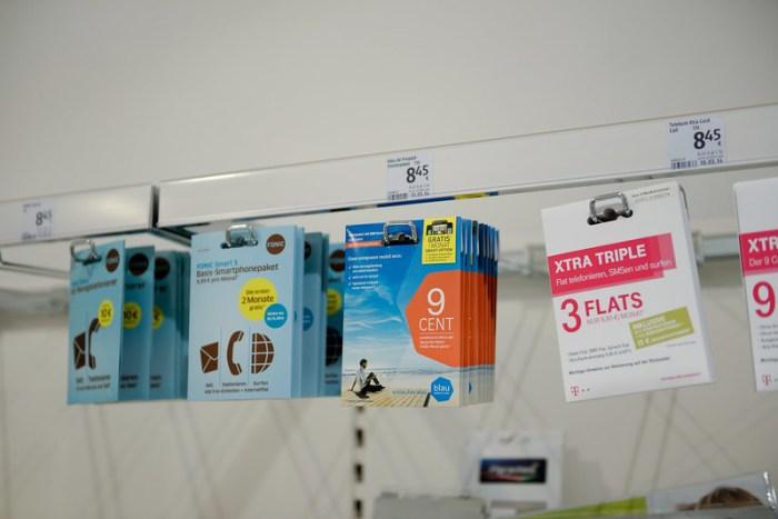 Blau.de 的預付卡