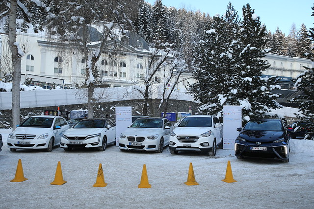 Hydrogen Council Launch - Davos - World Economic Forum - 2017