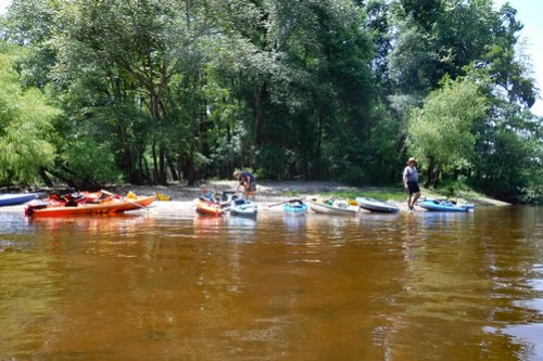 Edisto River Beer Commercial and Rope Swing Float-49