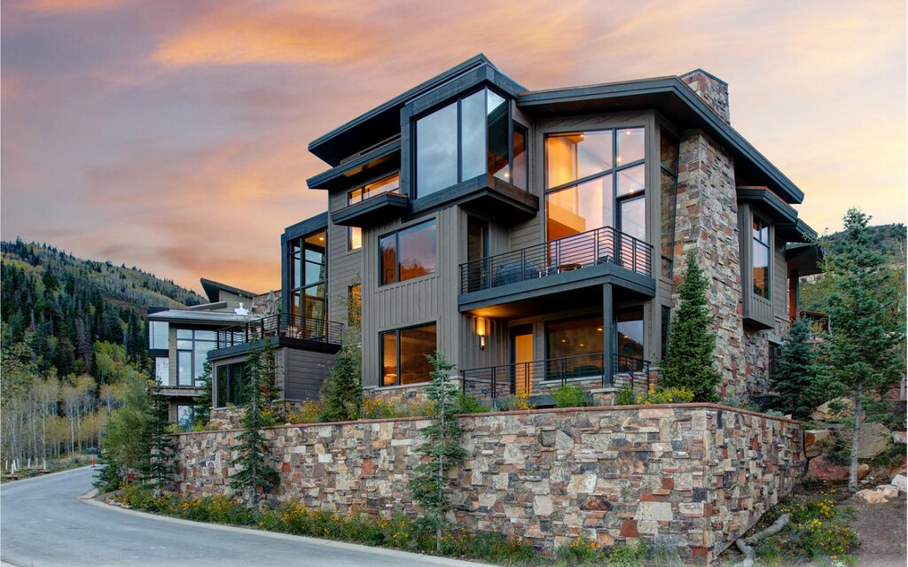 Michele King Interior Design  Park City  UtahEnclave Townhome 15 at     Enclave Townhome 15 at Sun Peak  Park City  Utah