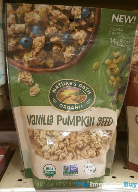 Nature's Path Vanilla Pumpkin Seed Granola