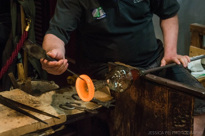 Glassblowing Demonstration Venice Italy