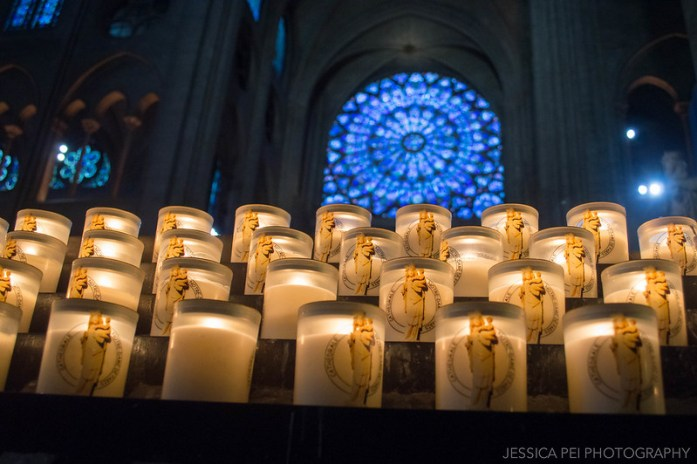 Notre Dame Cathedral Candles