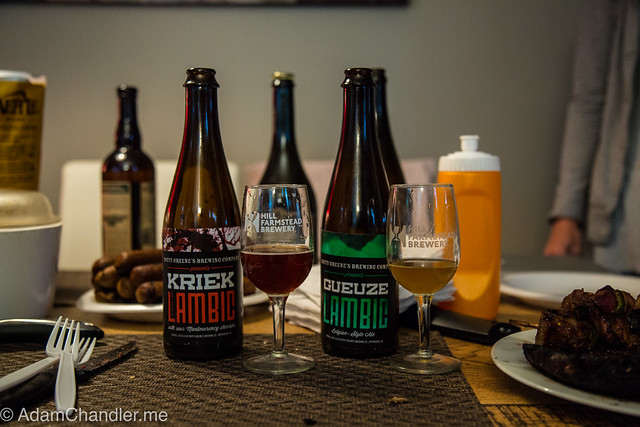 Natty Greene's Gueuze & Kriek Lambic