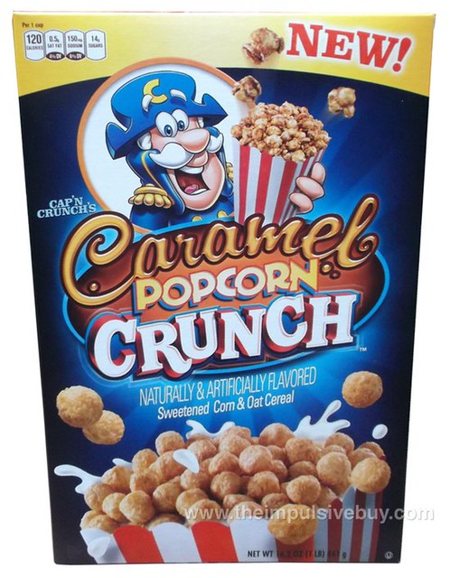 Cap'n Crunch's Caramel Popcorn Crunch Cereal