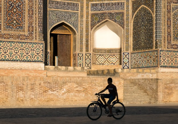 Late afternoon. Bukhara