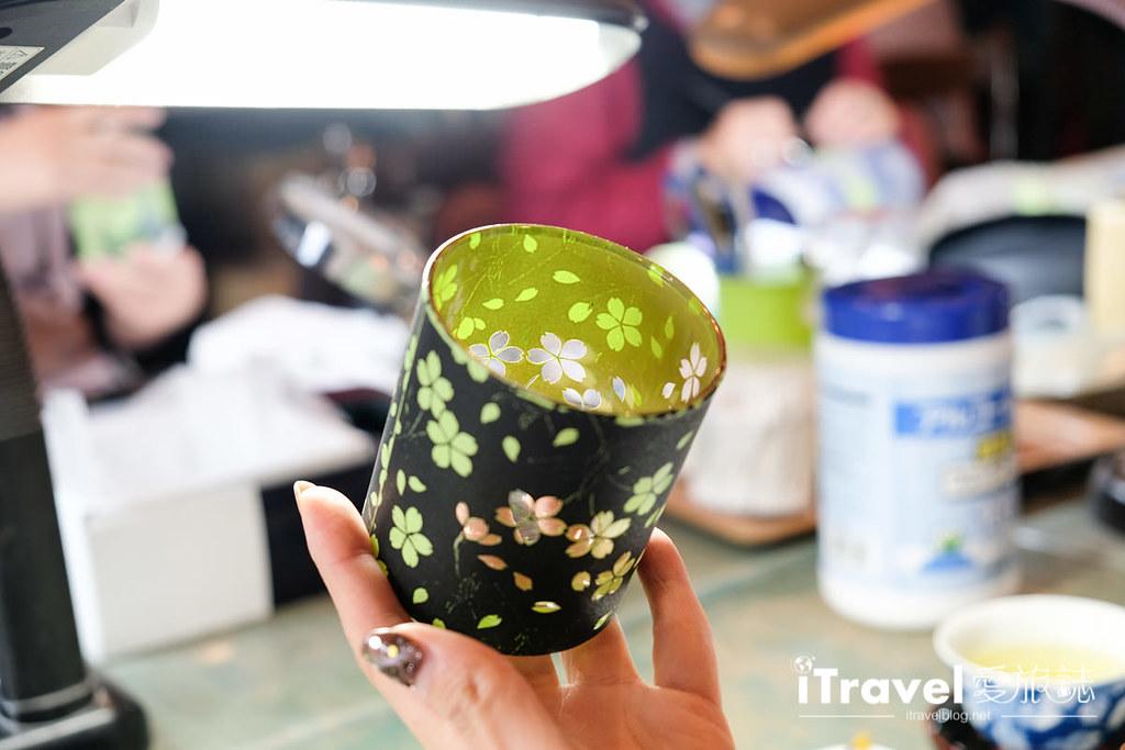 东京手作课程 喷砂玻璃工艺体验 47