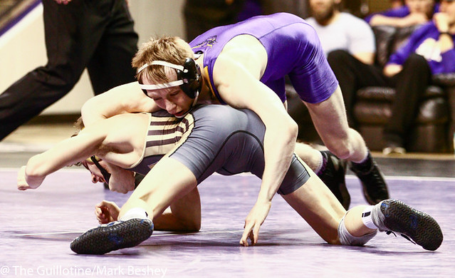 125: Andrew McFall (MSM) over Brock Buysse (SMS) (MD 12-1)