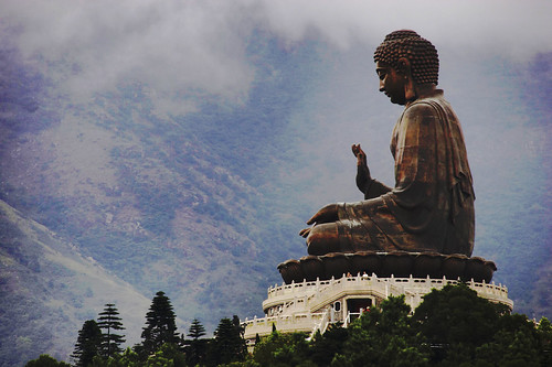 Buddha@Hong Kong by hk_traveller