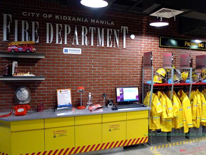 kidzania fire station