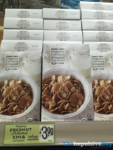 Trader Joe's Organic Coconut Almond Chia Cereal