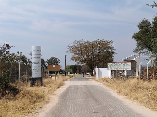 Botswana Entrance