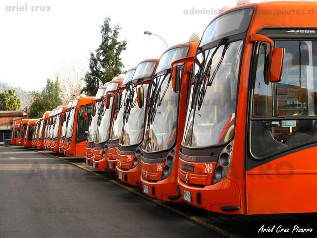 Transantiago - Redbus Urbano - Neobus Mega LE / Mercedes Benz