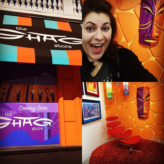 So stoked I got to visit the store of my favorite artist @theartistshag!!