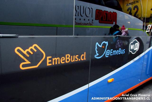 Eme Bus (Suite Cama Excellence) - Santiago - Marcopolo Paradiso 1800 DD / Volvo (HGWL20)