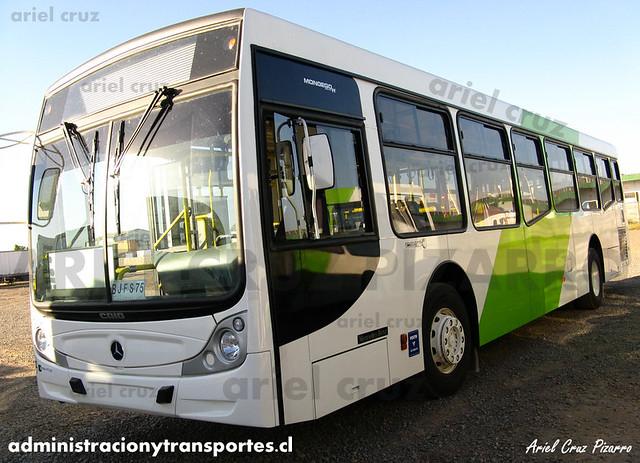 Transantiago - Buses Vule - Caio Mondego H / Mercedes Benz (BJFS75)