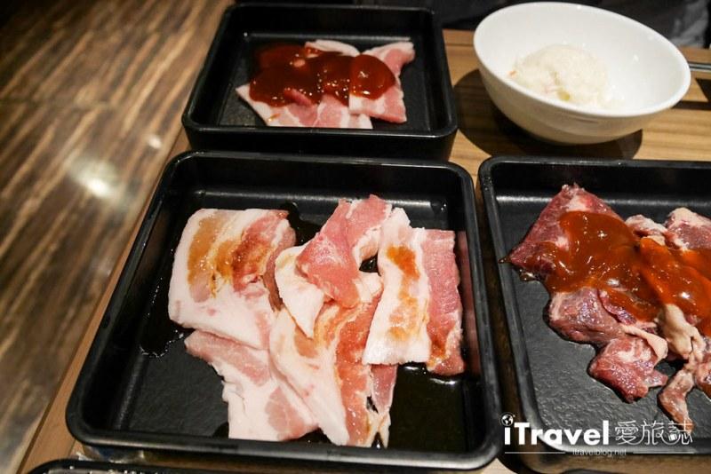 《京都美食餐厅》牛角烧肉四条河原町店:iPad中文辅助点餐,放心一次吃到饱