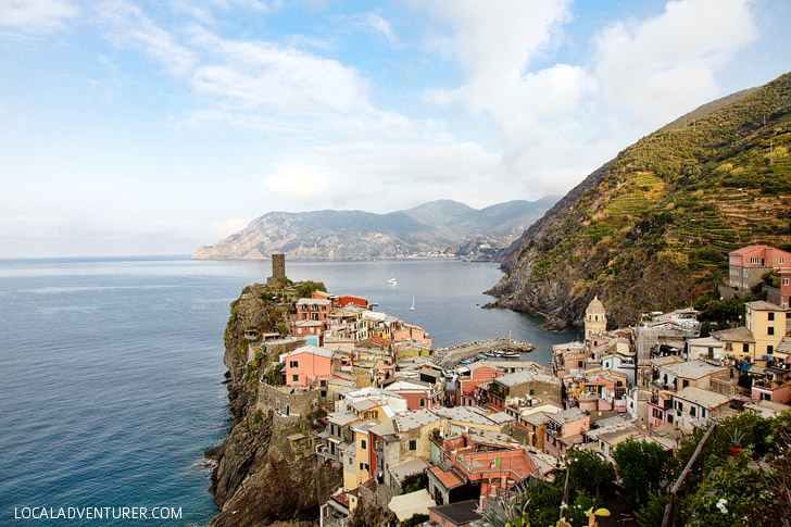 Exploring the Colorful Town of Vernazza Cinque Terre Italy