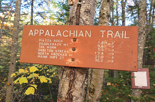 Saddleback Appalachian Trail Head