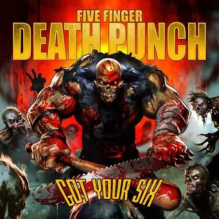 Five Finger Death Punch - 'Got Your Six' album artwork
