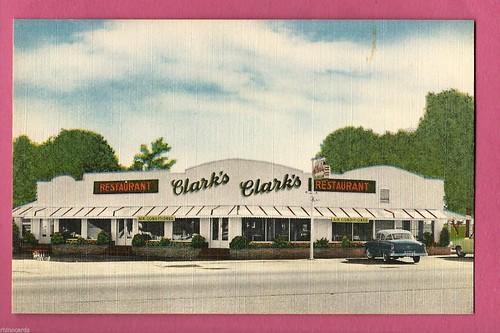 Clarks Restaurant Santee front