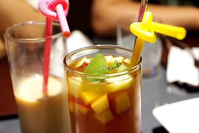 水果茶與奶茶