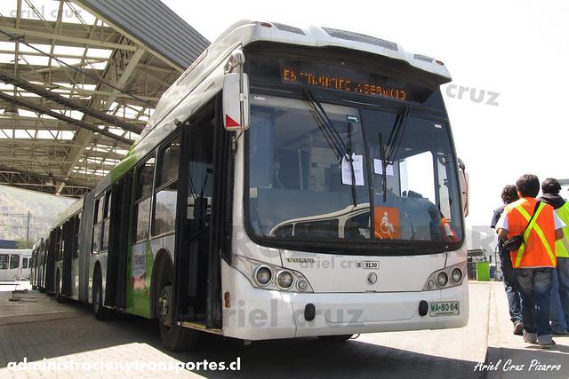 Transantiago - Subus Chile - Caio Mondego LA / Volvo (WA8064) (9130)