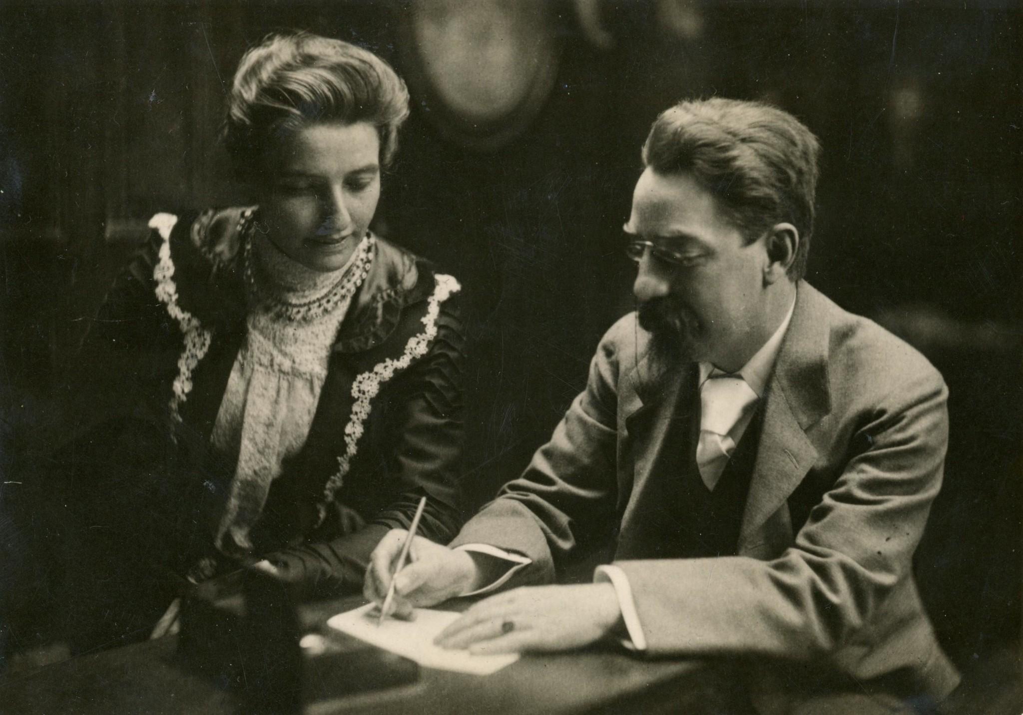 Beatrice & Sidney Webb, c1895