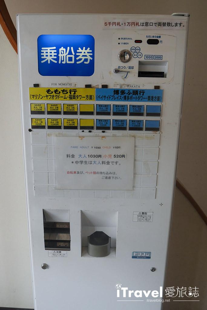 《福冈乘船体验》博德湾汽船航线:搭乘安田海上接驳船,快速往返海之中道与福冈塔两地景点
