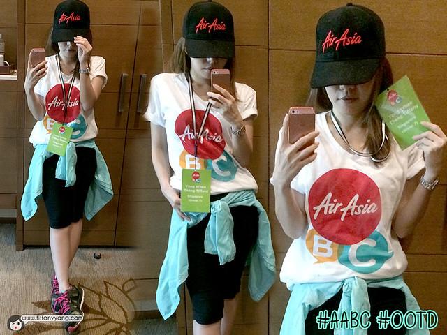 AirAsia Blogger Community 2015 OOTD