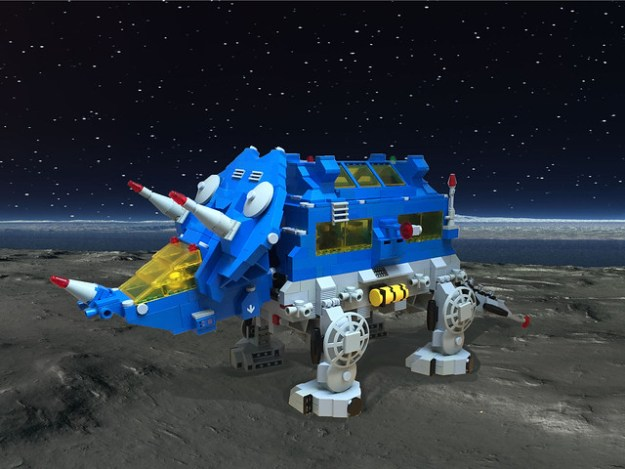 Trispace0tops (classic space Triceratops)