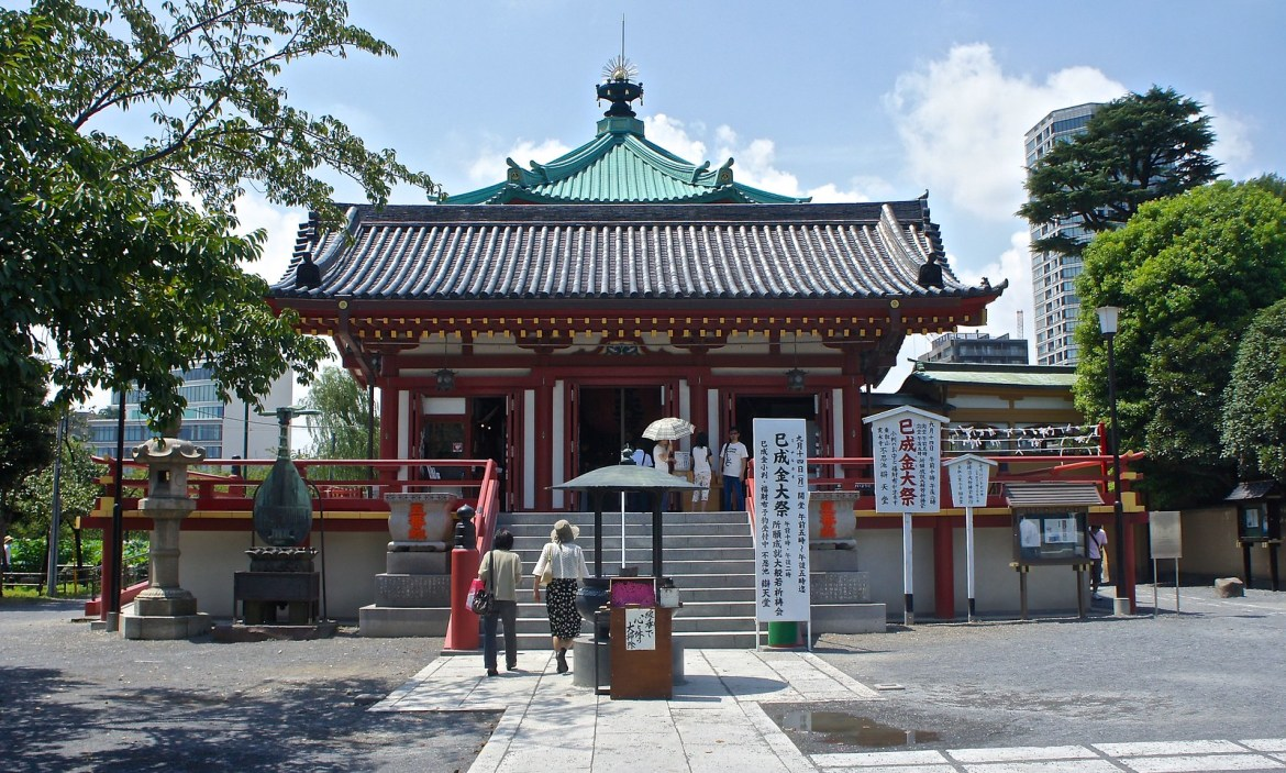 Benzaiten Temple at Ueno