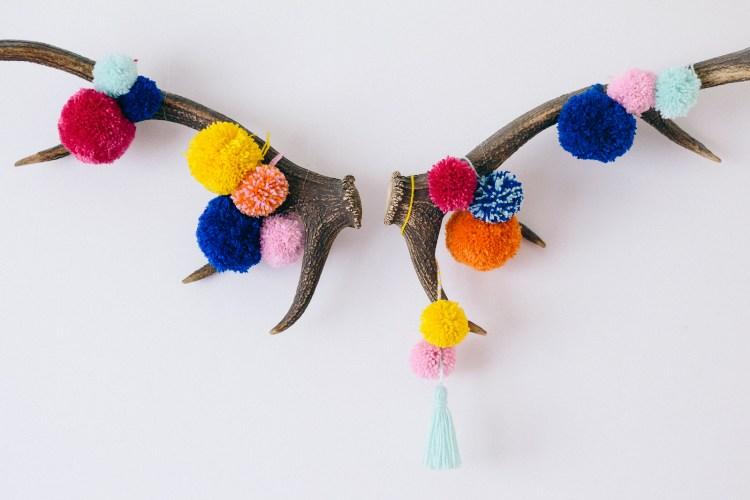 Pom Pom Antlers