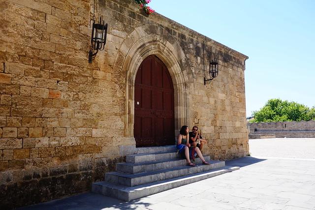 ロドス島の旧市街