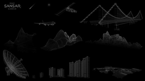Collage of all the wireframe images on the new Project Sansar login page, made by Ernst Dommershuijzen.https://joyardley.wordpress.com/2015/09/17/project-sansar-login-page-online/