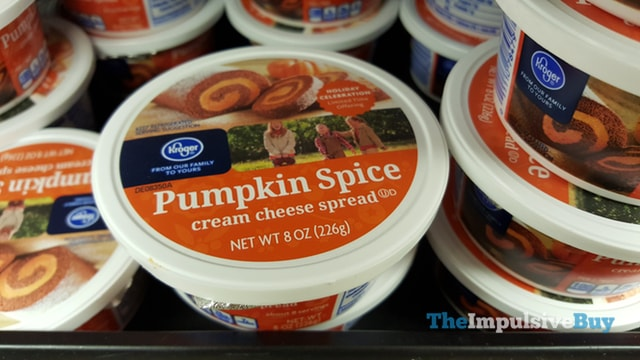 Kroger Pumpkin Spice Cream Cheese Spread