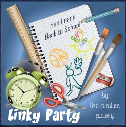 My Little Inspirations - Handmade Back to School Linky Party