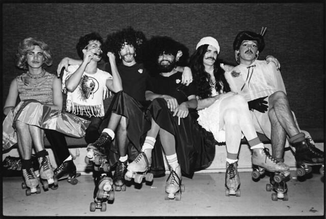 Halloween at Palisades Gardens, 1981