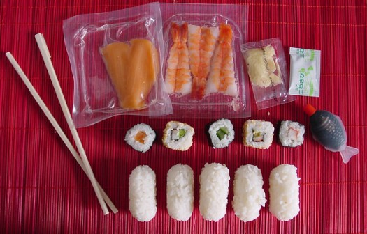 sushi en el plus!!!